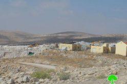 """مستعمرو """" كرمئيل """" يطمعون في الاستيلاء على جبل في خربة أم الخير بلدة يطا – محافظة الخليل"""