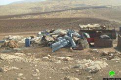 الاحتلال يهدم 55 منشأة سكنية وزراعية في الأغوار الشمالية / محافظة طوباس