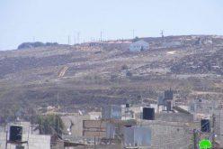"""مستعمرو """"جلعاد زوهر"""" يحرقون 5 دونمات من أراض قرية صرة /محافظة نابلس"""