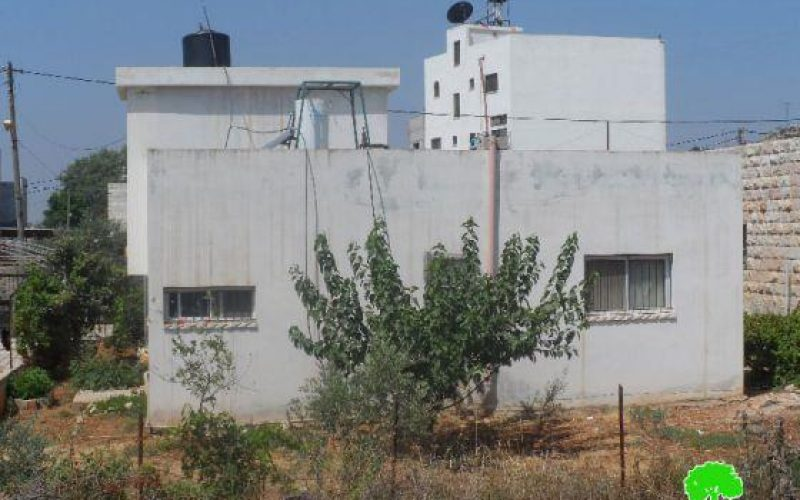 Stop-Construction Orders to Four Families in Nablus