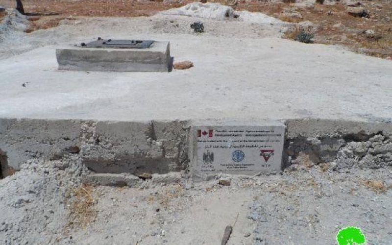إخطار بوقف العمل وآخر بالهدم في بئري مياه بمنطقة القانوب شرق سعير