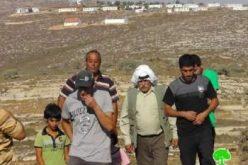 مداهمة عدداً من المساكن  وإحراق 14 دونماً في قرية جالود / محافظة نابلس