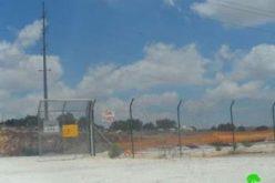 الشروع بإقامة بئر ارتوازي وحاووز للمياه على أراضي قرية مردا /محافظة سلفيت