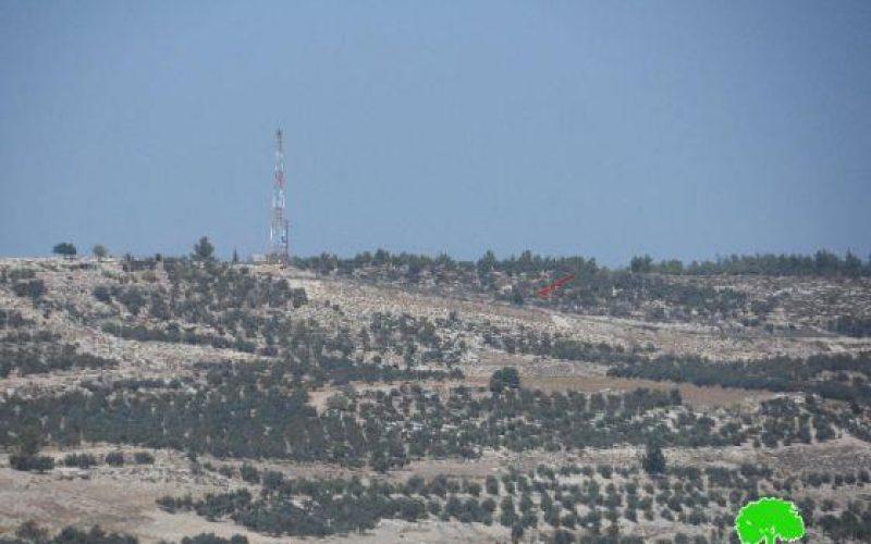 إخطارات بإخلاء مئات الدونمات من أراضي بلدة خاراس / محافظة الخليل