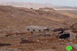 الاحتلال يهدد 5 عائلات فلسطينية بوقف العمل والبناء في قرية كيسان / محافظة بيت لحم