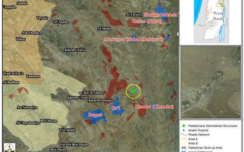 """Ethnic Cleansing Manifested in the Jordan Valley"" <br> he Eradication of Khirbet Makhoul Bedouin Community"