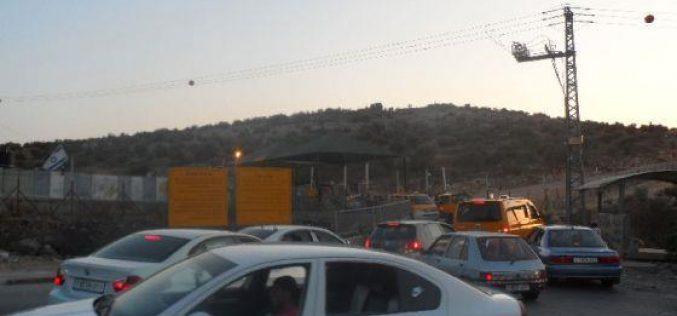 Tightening the siege around 'Azzun 'Atma