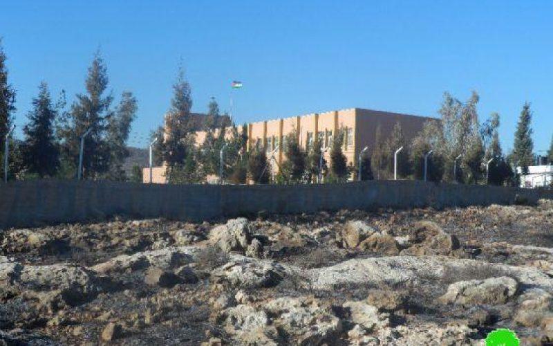 إحراق 30 دونماً في قرية جالود / محافظة نابلس