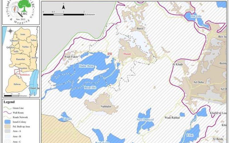 اقتلاع وخلع  78 شجرة زيتون  وسرقة جزء منها في قرية حوسان