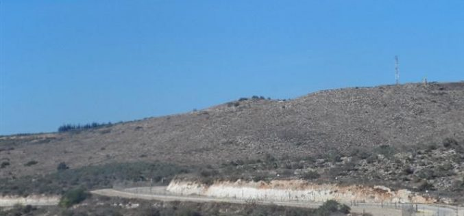A notification of 78.3 dunums takeover for the favor of the apartheid wall in Tulkarm