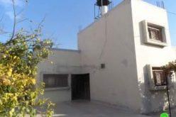 إخطار أربعة منازل بوقف البناء في بلدة زيتا