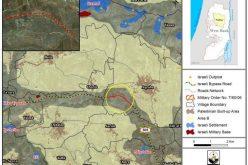 إسرائيل تمدد سريان وضع اليد على أراضي فلسطينية في بلدة عقربا في محافظة نابلس