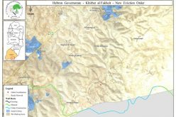 الاحتلال يقتلع آلاف الأشتال في محمية الفخيت شرق يطا
