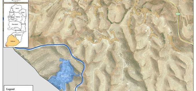 الاحتلال يخطر بإعطاء فرصة للاعتراض على قرار هدم منشآت في أم سدرة جنوب الخليل