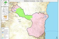 مستعمرون يجرفون أرض زراعية و ينصبون كرفان عليها في قرية كيسان
