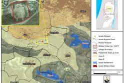 إسرائيل تصادر أراضي في قريتي تل وبورين في محافظة نابلس