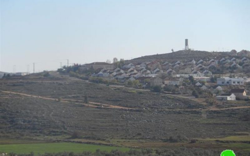 Expansion of Shvut Rahel on Jalud lands