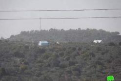 تجريف مساحات واسعة من الأراضي تمهيداً للاستيلاء عليها في قرية ياسوف