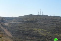 إعادة فتح طريق زراعي يخدم البؤرة الاستعمارية المقامة على أراضي بلدة سلواد