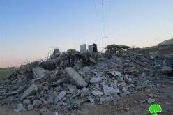 House demolition in Jericho