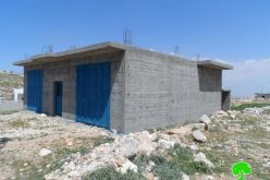 Serving stop work orders in Khalit Al Mayeh village – Yatta
