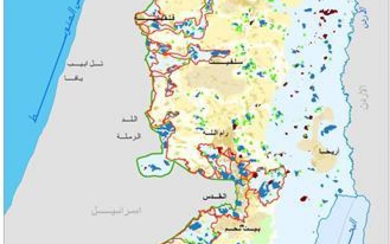 اعتداءات المستوطنين الاسرائيليين خلال الربع الاول من العام 2014