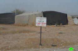 تحويل مساحات زراعية واسعة إلى مناطق أثرية مغلقة لصالح المستعمرين في قرية فصايل الوسطى في محافظة أريحا