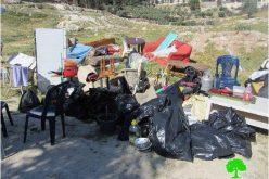 الانتهاكات الإسرائيلية في القدس المحتلة خلال شهر نيسان من العام 2014