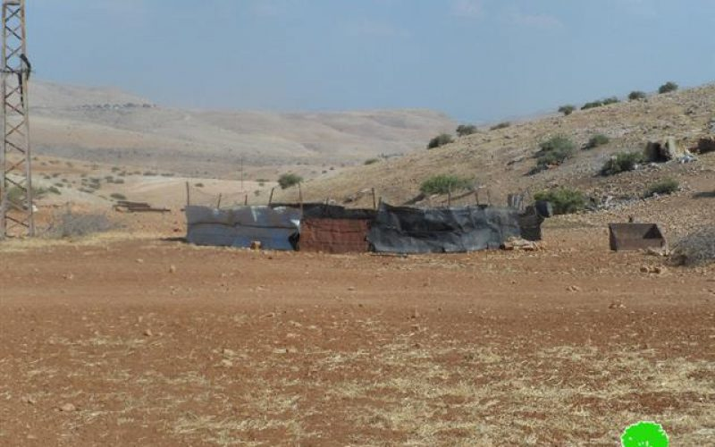 Stop-work Orders on Structures of a Bedouin Community