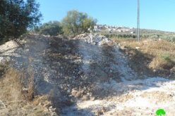 The shutdown of Agricultural Roads in Yabad – Jenin Governorate