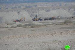 السماح للشركات الإسرائيلية في العمل بالمناطق الحدودية ومنع الفلسطينيين من استغلالها في استنزاف خيراتها