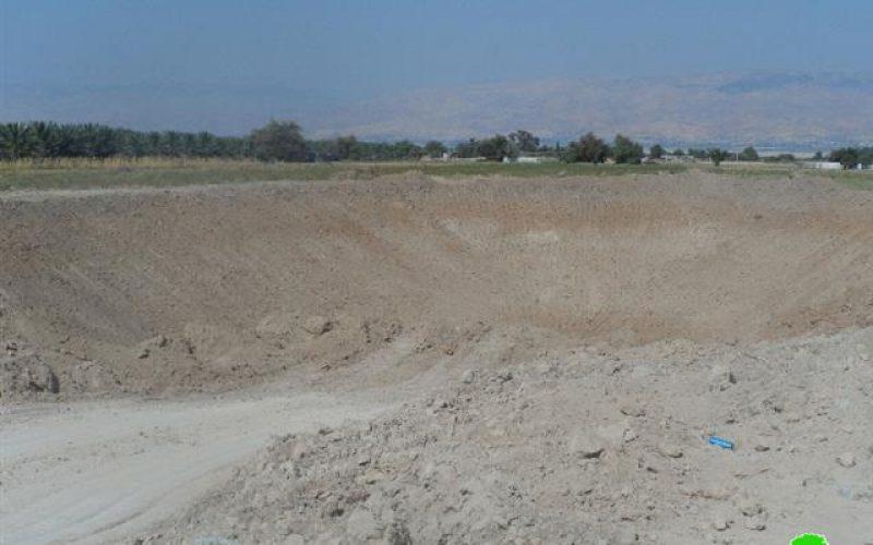 Stop-work Order on a rainwater harvesting pond in al- Jiftlik