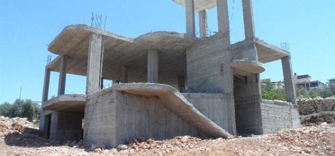 Israeli Stop-work Orders in Nahhalin