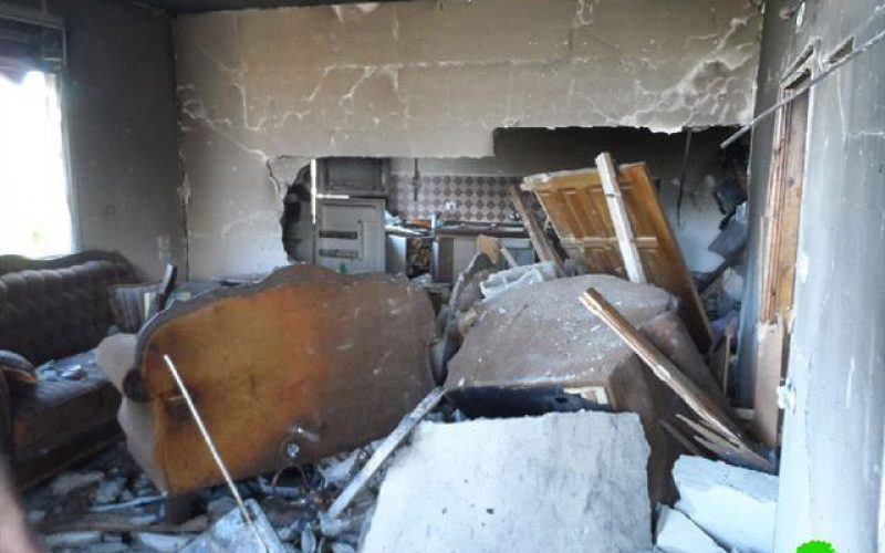 Unrivaled Wave of Attack on Hebron <br> The Israeli Occupation Razes the Homes of the Families of al-Qawasmi and Abu- Eisha