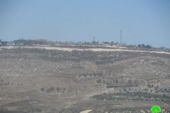 Expansion of Bracha settlement on Burin lands