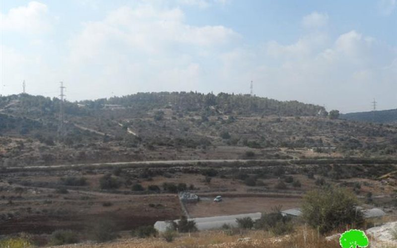 Maale Shomron puts hand on a piece of land in Qalqiliya