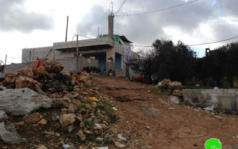 A wave  of stop-work orders in Al-Khadr area by Israeli occupation