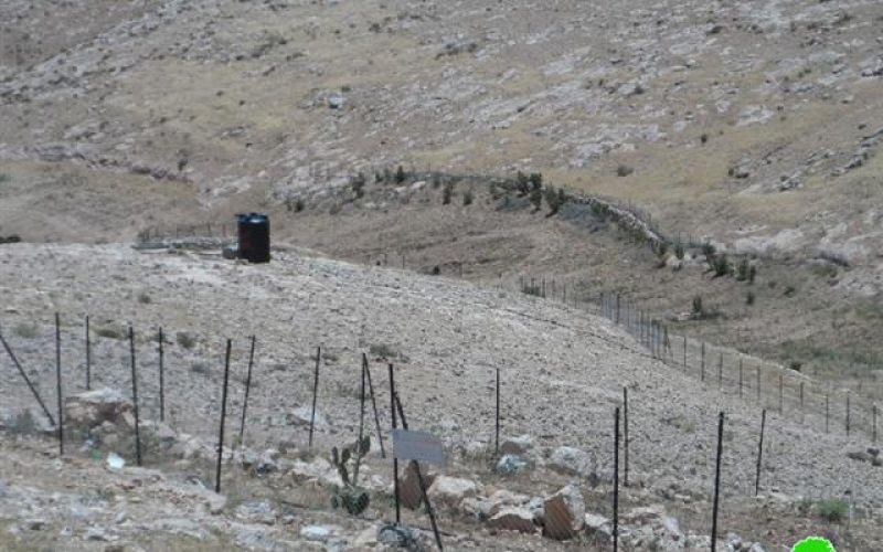 A final notification to dismantle a farm fence in Khirbet Umm el-Khair