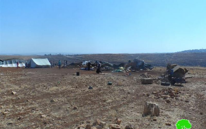 Six tents and a barn demolished in Ramallah
