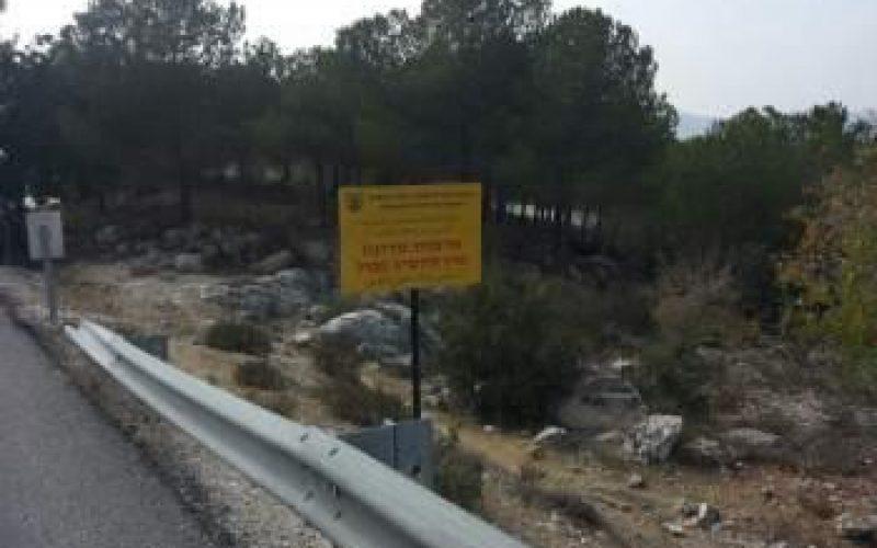 الأسرلة الصامتة لأراضي الضفة الغربية المحتلة <br> اسرائيل تعلن الاستيلاء على 3799 دونما من أراضي محافظتي بيت لحم والخليل