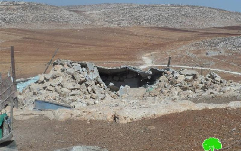 Four residential rooms demolished in Khirbet al-Tawil