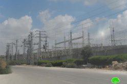 """توسيع محطة الكهرباء التابعة لمستعمرة """"أرائيل"""" على أراضي بلدة كفل حارس"""