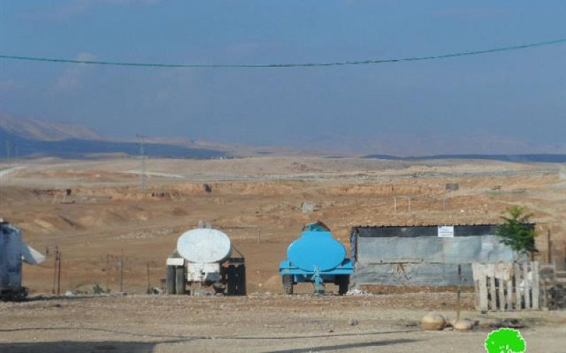 Within the policy of compulsory displacement : A new plan to uproot the Bedouin communities from al-Ghoor and Jerusalem