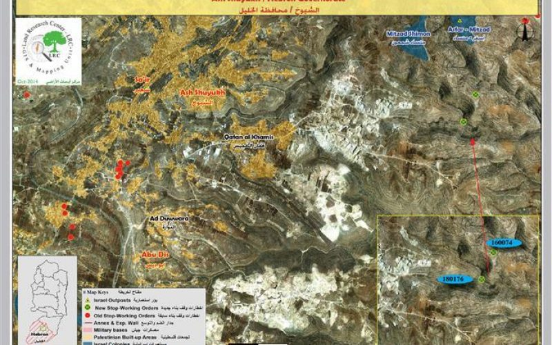 The occupation notifies two agricultural roads with stop work