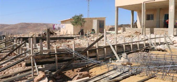 خمس منازل فلسطينية مهددة بالهدم في قرية كيسان في محافظة بيت لحم