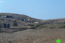 The occupation notifies Khirbet Um al-Jamal, a Bedouin community with demolition