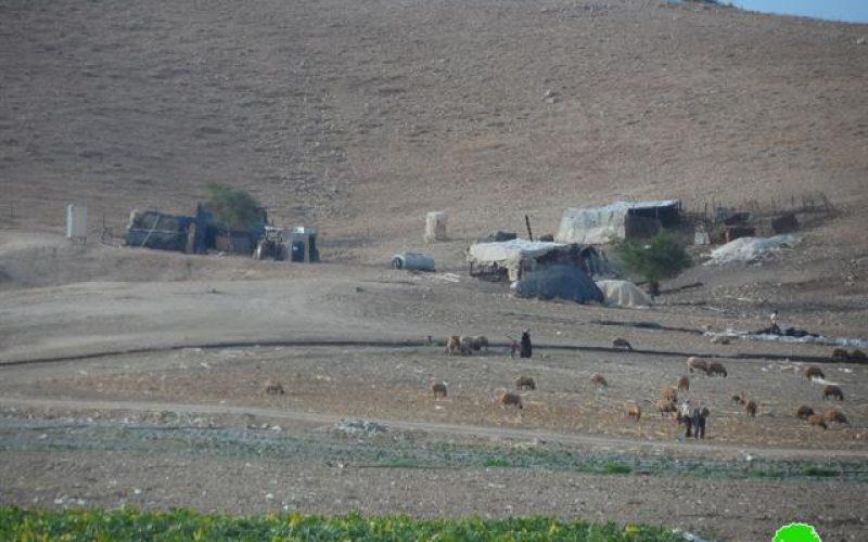 بحجة التدريبات العسكرية حمى التهجير والإبعاد  تطال التجمعات البدوية في الأغوار الشمالية مجدداً