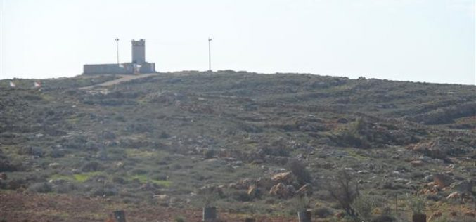 The Israeli occupation establishes a military zone in Qusra village