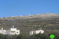 """مستعمرو البؤرة الاستعمارية """" جفعات رونين"""" يتلفون شبكة الكهرباء شرق قرية بورين"""