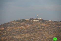 """إحراق مولدات الكهرباء في مصنع """" البحة"""" للأعلاف على يد المستعمرين في قرية بيتا / محافظة نابلس"""